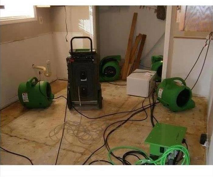 Water Damage – Baldwin Park Home Before