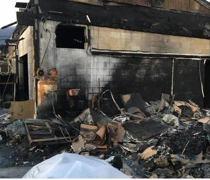 Fire Damage SERVPRO Has The Equipment To Restore Your Property Quickly After Fire Damage